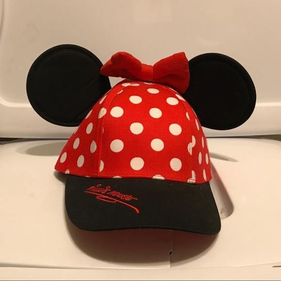 1f71bc74667 Disney Other - MINI MOUSE BASEBALL CAP W  EARS
